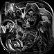 Skull theme grim reaper by Beauty Die Marker