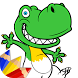 Dinosaurs Kids Games: Coloring by Cool & Fun Kids Games