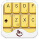 Golden Yellow Keyboard Theme by TouchPal HK