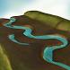 Features of a Flood Plain 3D by Trendyworks LLC