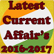 Current Affair's English for All Exams 2017-2018 by OneShot_Learning(GK-IBPS-SSC)