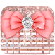Rose gold Pink bow keyboard by Bestheme Pink shining album collection