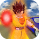 Saiyan Battle: Dragon Goku Superhero Warrior
