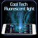 Cool Tech Fluorescent light by Cool Launcher Theme