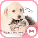 Cute Animal Wallpaper Puppy and Kitten Theme by +HOME by Ateam