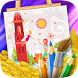 ColorMe Fairy Tales Book by Coloring Books and Games for Kids