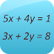 Linear Equation System Solver by GK Apps