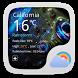 Glittering Star Weather Widget by GOMO Go