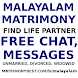 Malayalam / Kerala Matrimony. Free Chat, Messages
