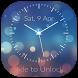 Classic Clock Lock Screen by Golden Leaf