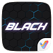 Black V Launcher Theme by V Launcher
