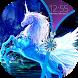 Unicorn Zipper Lock Screen by AquaKing