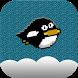 Tiny Penguin Fly by Hx.Studio