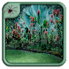 Tropical Garden Plants Design by Black Arachnia