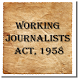 Working Journalists Act 1958 by Rachit Technology