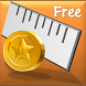 Ruler - Coin Calibrated by QL Software Lab