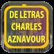 Charles Aznavour de Letras