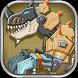 Desert T-Rex Robot Dino Army by joy4touch