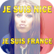 I AM NICE - I support france by TAFNNA dev