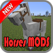 Horses MODS For MCPE by Pngsoftware