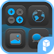 Blue Point Icon Pack by SK techx for themes