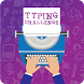 Typing text test your speed