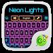 Neon Lights GO Keyboard Theme by GO Keyboard Dev Team
