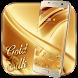 Gold Silk Theme by pretty launcher