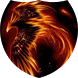 Flaming bird Live Wallpaper by Firamo