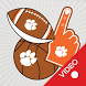 Clemson Tigers Selfie Stickers Animated by 2Thumbz, Inc