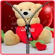 Teddy bear love screen lock by Saad Shabbir