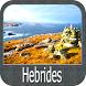 Hebrides GPS Map Navigator by FLYTOMAP INC