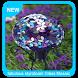 Fabulous Styrofoam Glass Mosaic Spheres by Goal Apps