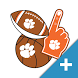 Clemson Tigers PLUS Selfie Stickers by 2Thumbz, Inc