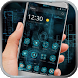 Blue Technology launcher theme by Neon launcher theme - wallpapers