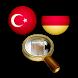 Almanca Türkçe Sözlük by MRHA
