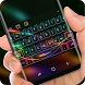Neon Laser Colorful Light Keyboard Theme by Gummi Sour Hearts Studio