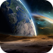 View from Moon Live Wallpaper by Cambreeve