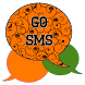 GO SMS - Halloween Swirl by SCSCreations