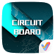 Circuit Board 3D V Launcher Theme by V Launcher