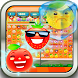 Funny Fruit Crush Mania by Praj Collection