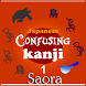 Japanese Confusing Kanjis Set1 by Saora Inc.