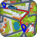 GPS Driving Route Finder with Map Navigation by Robert Pike