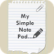 Simple Note Pad by Priyanshi Infotech