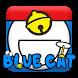 Blue Cat Keyboard by Hello Keyboard Theme