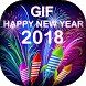 Happy New Year GIF 2018 - New Year GIF Collection by Marvella Media