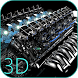 Turbo Engine 3D Live Wallpaper by Amigo DeLaVerde