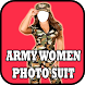 Army Women Photo Suit & Frames