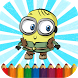 Coloring Page for Minionsy by Coloring Kids Studio