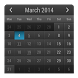 Month Calendar Widget by BiHSnow